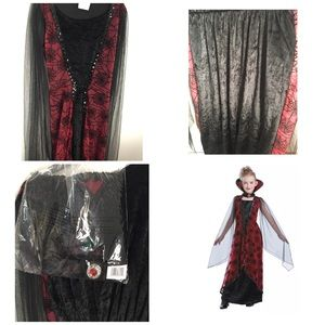 Other - Winged Vampiress  child costume Size Large